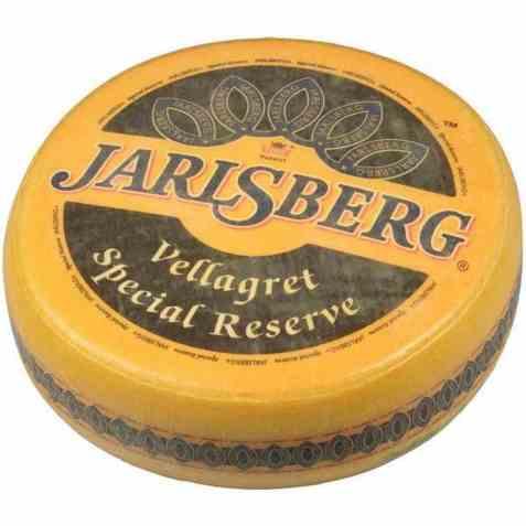 Bilde av Tine Jarlsberg Vellagret med skorpe 10 kg.