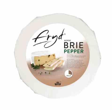 Bilde av Tine Fryd Brie Pepper 2 kg.