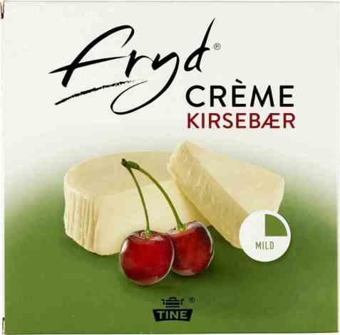 Bilde av Tine Fryd Crème Kirsebær 1,5 kg.