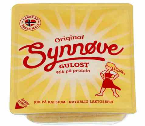 Bilde av Synnøve Gulost skiver 285 gr.