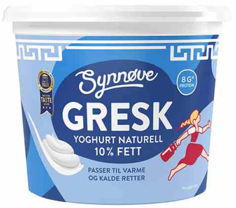 Bilde av Synnøve gresk yoghurt naturell 750 gr.