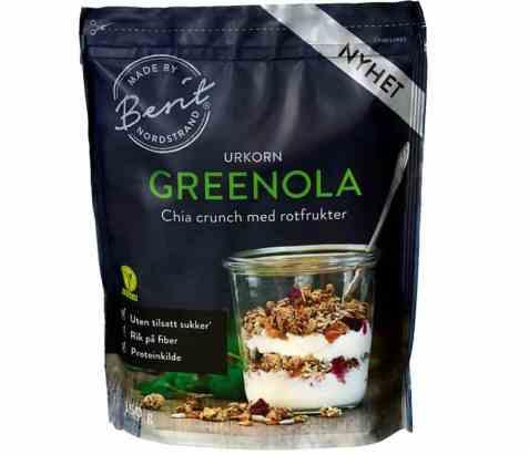 Bilde av Berit Nordstrand granola greenola urkorn.