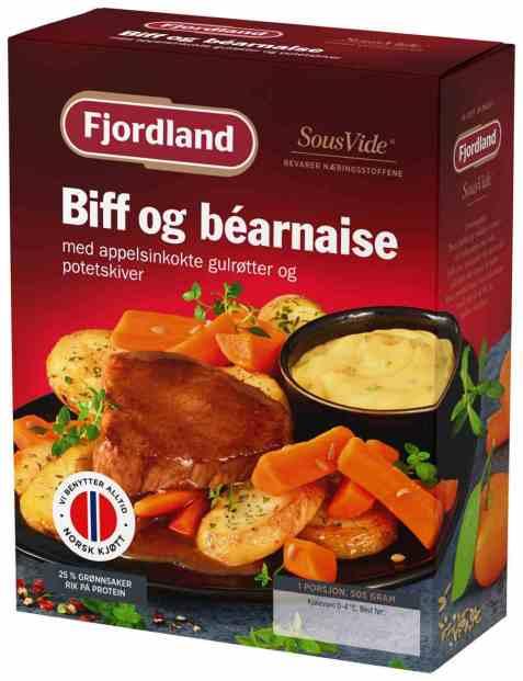 Bilde av Fjordland Biff & bearnaise.