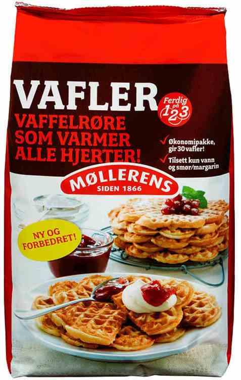 Bilde av Møllerens vafler mix 1 kg.