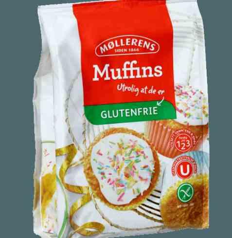 Bilde av Møllerens muffins glutenfri.