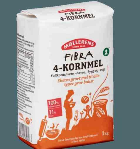 Bilde av Møllerens Fibra 4-Kornmel.