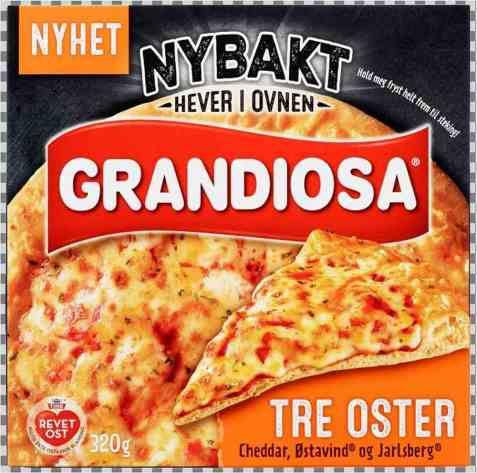 Bilde av Grandiosa Nybakt Tre Oster.