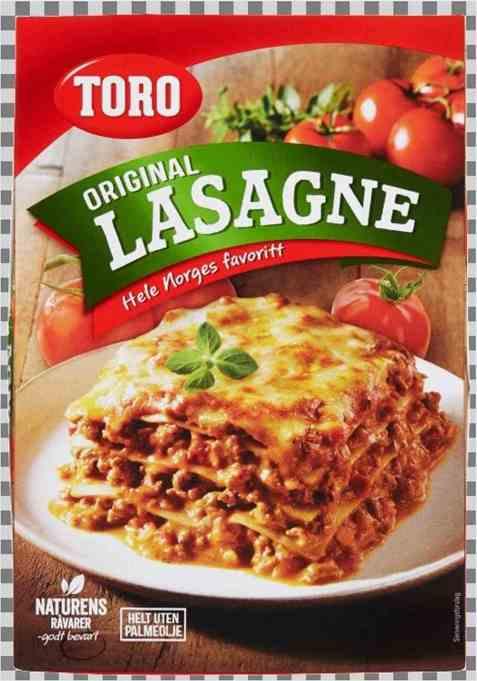 Bilde av Toro lasagne 202 gr.