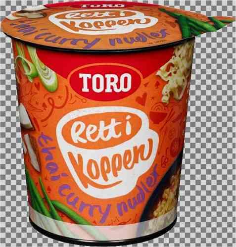 Bilde av Toro Rett i koppen Thai Curry 65 gr.