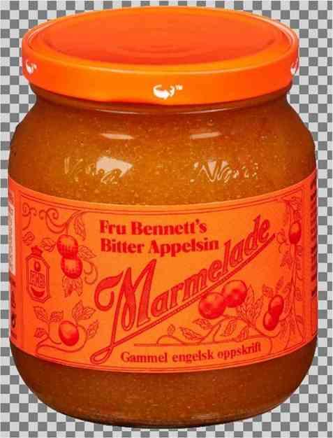 Bilde av Bennetts appelsinmarmelade bitter 430 gr.