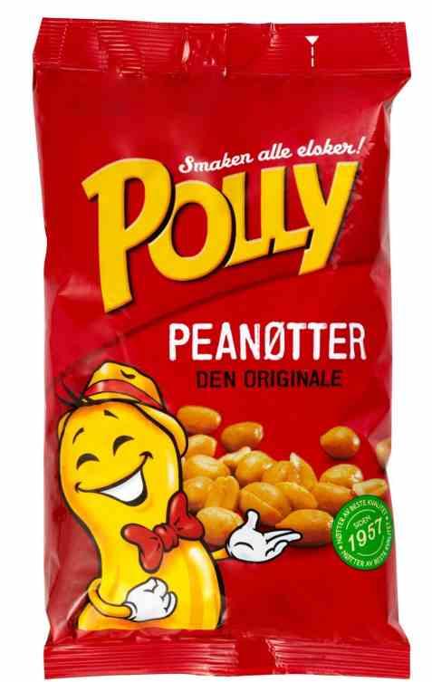 Bilde av Polly peanøtter salte 880 gr.