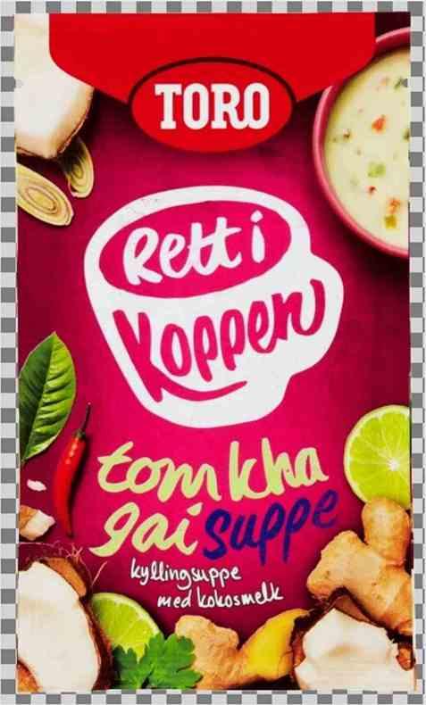 Bilde av Toro Rett i koppen Suppe Tom Kha Gai.