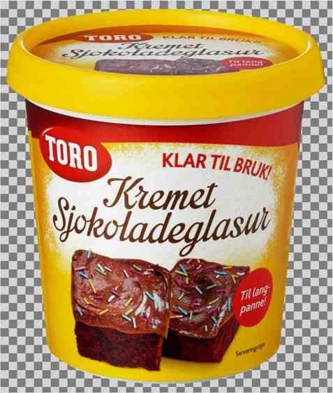 Bilde av Toro Kremet Sjokoladeglasur.