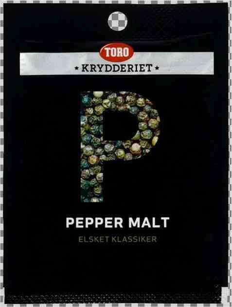 Bilde av Toro Krydderiet pepper sort malt 13 gr.