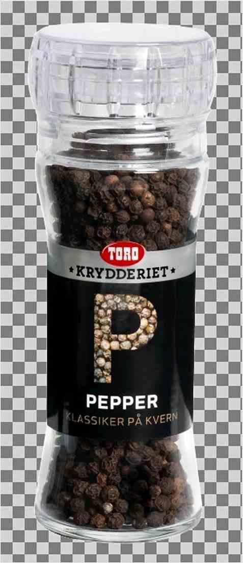 Bilde av Toro Krydderiet Pepper hel kvern.