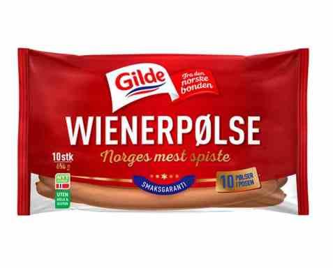 Bilde av Gilde Wienerpølser 650 gr.