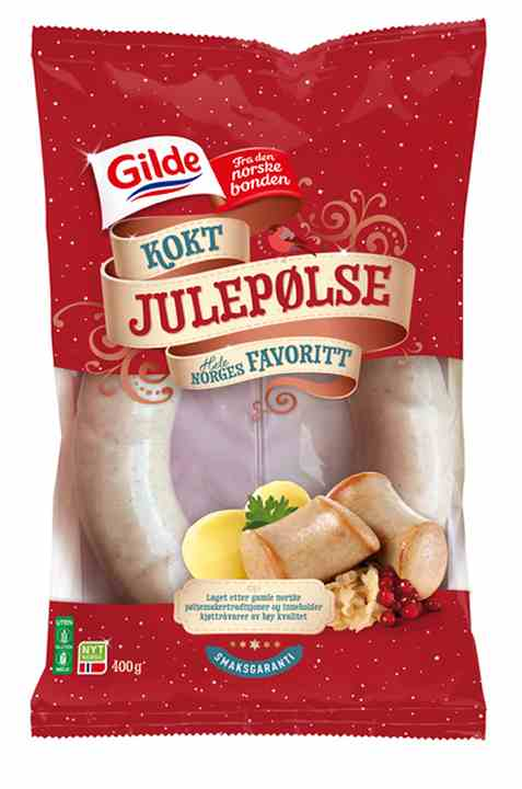 Bilde av Gilde julepølse kokt 400 gr.