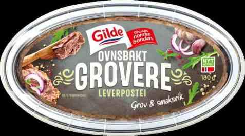 Bilde av Gilde Ovnsbakt Leverpostei Grov.