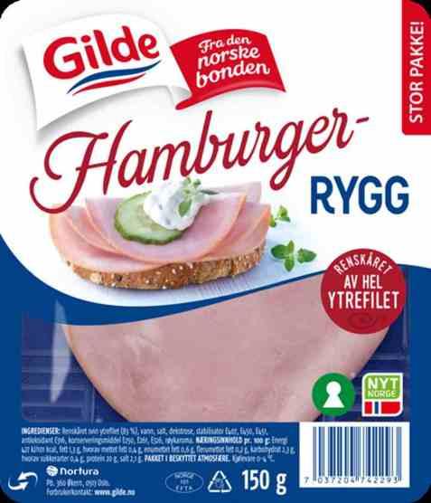 Bilde av Gilde Hamburgerrygg 150 gr.