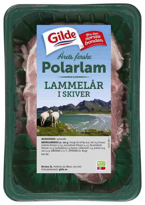 Bilde av Gilde Polarlam lammelår i skiver.