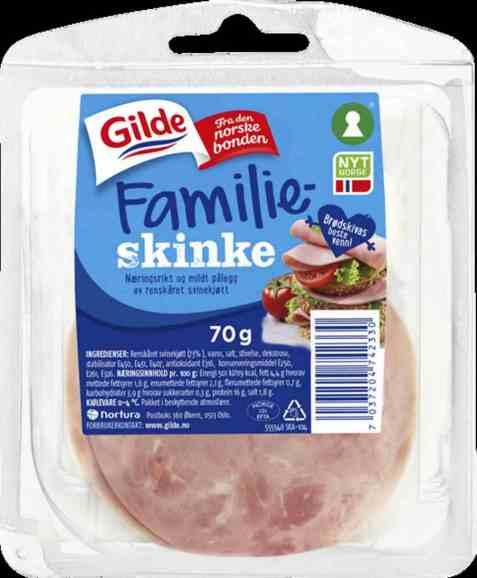 Bilde av Gilde Familieskinke 70 gr.
