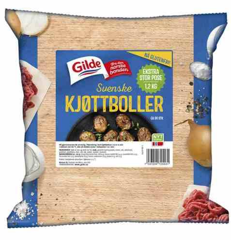 Bilde av Gilde Svenske kjøttboller 1,2 kg.