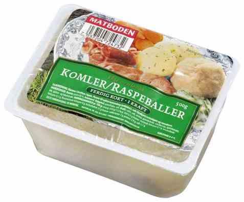 Bilde av Matboden ferdige Komler/Raspeballer.