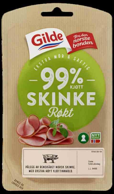Bilde av Gilde Naturlig God Røkt Skinke 90g.