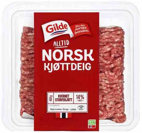 Bilde av Gilde kjøttdeig av storfe 400 gr.