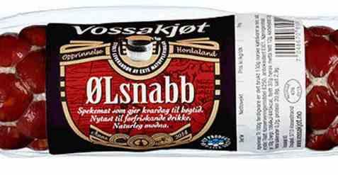 Bilde av Vossakjøt ølsnabb.
