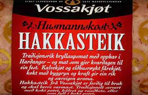 Bilde av Vossakjøt hakkasteik.