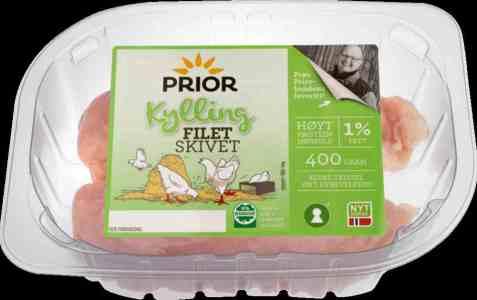Bilde av Prior kyllingfilet skivet 400 gr.