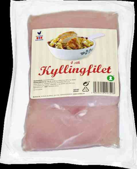 Bilde av Prior kyllingfilet 4 stk 600 gr.