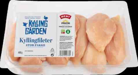 Bilde av Prior kyllingfilet 1400 gr kyllinggården.