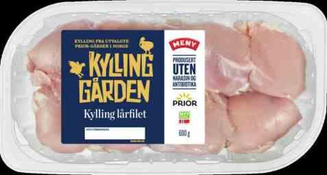 Bilde av Prior Kylling lårfilet kyllinggården.