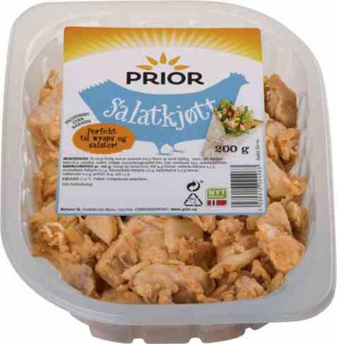 Bilde av Prior kylling salatkjøtt 200 gr.