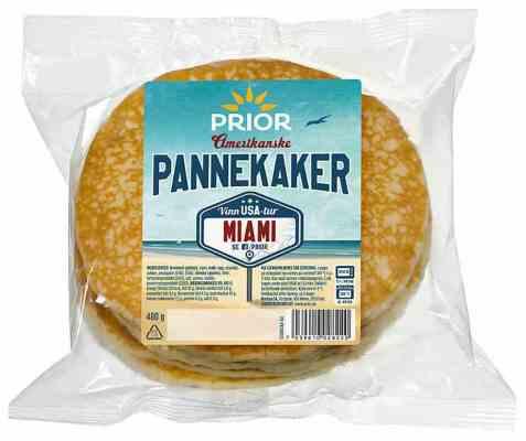 Bilde av Prior amerikanske pannekaker.