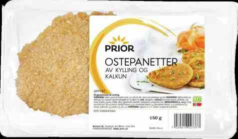 Bilde av Prior ostepanetter kylling og kalkun 150 gr.