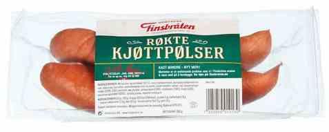 Bilde av Finsbråten røkt kjøttpølse 260 gr.