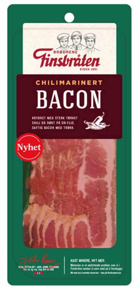 Bilde av Finsbråten bacon med chili.