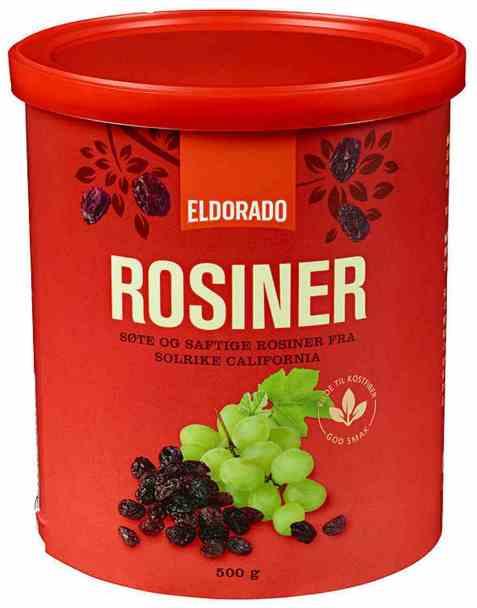 Bilde av Eldorado rosiner 500 gr.