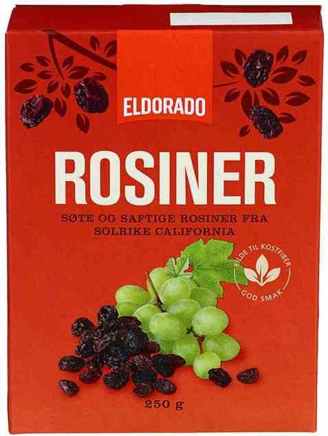 Bilde av Eldorado rosiner 250 gr.