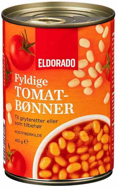 Bilde av Eldorado tomatbønner.
