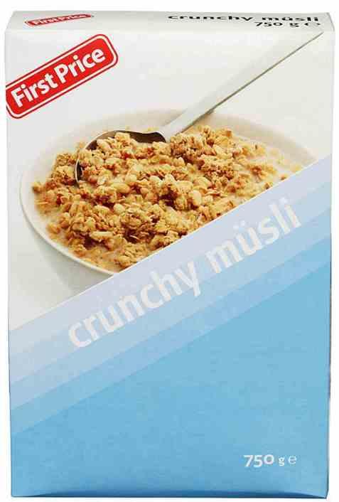 Bilde av First price crunchy musli.