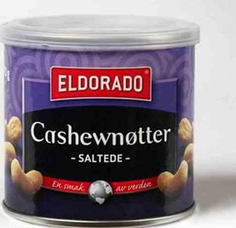 Bilde av Eldorado cashewnøtter salte 70 gr.