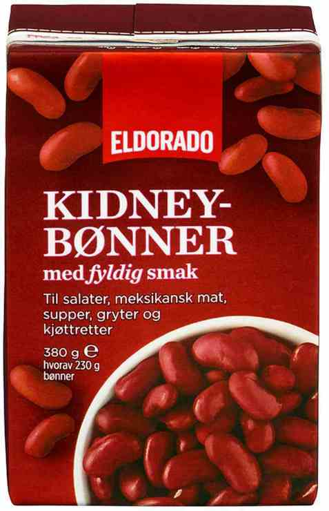 Bilde av Eldorado kidneybønner.