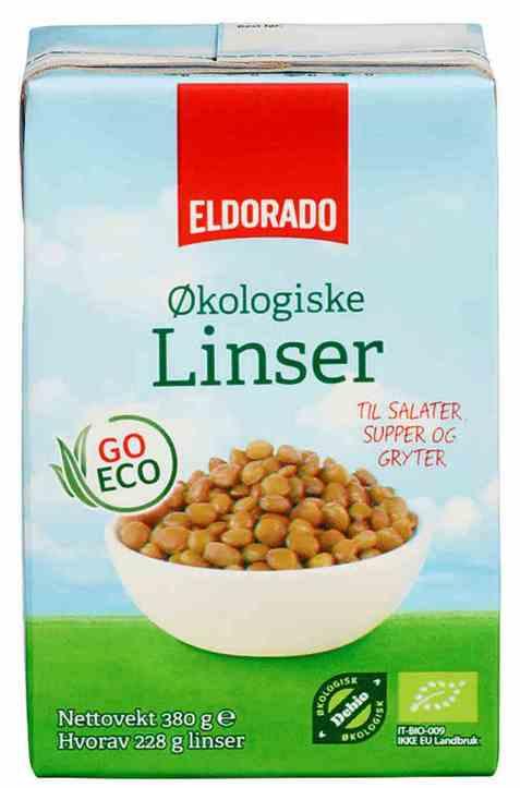 Bilde av Eldorado økologiske linser.