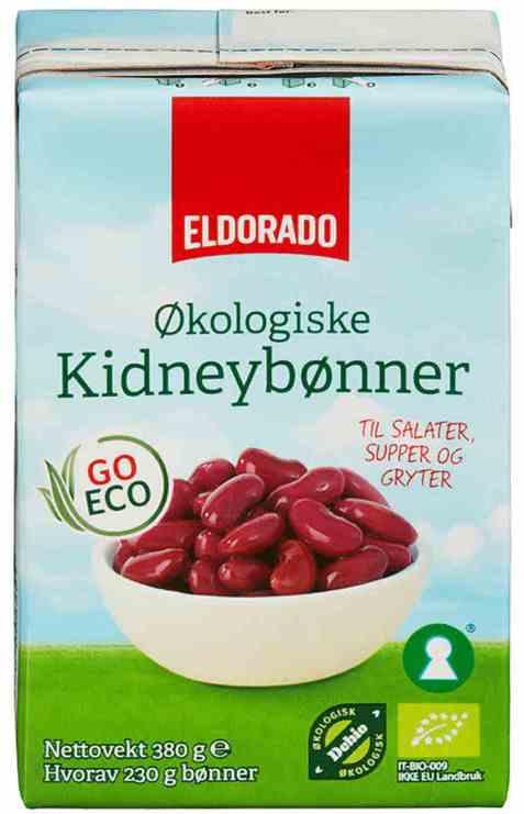 Bilde av Eldorado økologiske kidneybønner.