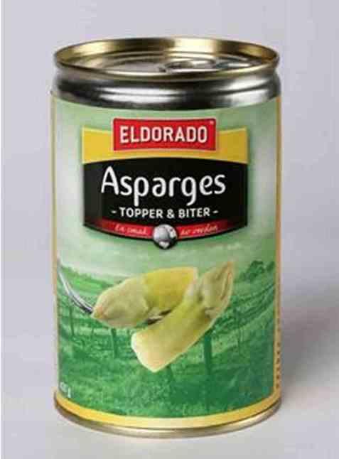 Bilde av Eldorado asparges topper & biter 425 gr.