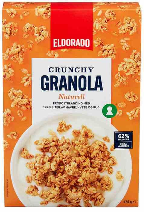 Bilde av Eldorado granola naturell.